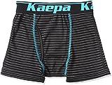 (ケイパ)Kaepa 男児 ボクサーブリーフ ボーダー 前開き 926 35510 49 クロ 130