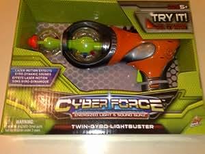Cyber Force Twin- Gyro LIGHTBUSTER (Energized Light & Sound Gunz)