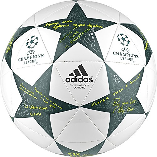Adidas Finale16 Cap Pallone da Calcio, Bianco (Bianco/Acevap/Vertec), 5