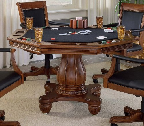 Hillsdale Kingston Game Table in Black
