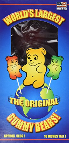 World's Largest Gummy Bear, Approx 5-pounds Giant Gummy Bear - Astro (Worlds Biggest Gummy Bear compare prices)