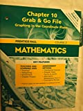 Chapter 10, Grab & Go File, Graphing in the Coordinate Plane, Course 2, Prentice Hall (Prentice Hall Mathematics, Chapter 10, Grab & Go File, Graphing in the Coordinate Plane, 2004)
