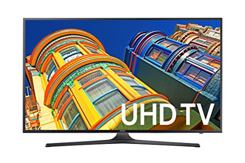 Samsung UN43KU6300 43-Inch 4K Ultra HD Smart LED TV (2016 Model)