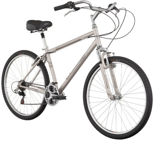 Diamondback Wildwood Citi Men's Comfort Bike (26-Inch Wheels), Gold, Medium/17-Inch