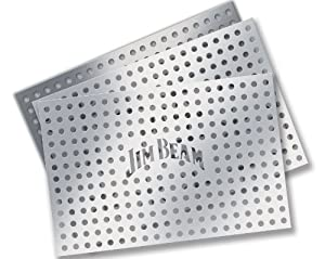 Style Asia JB0104 Jim Beam 3 Piece Grill Topper Set- Pack of 12