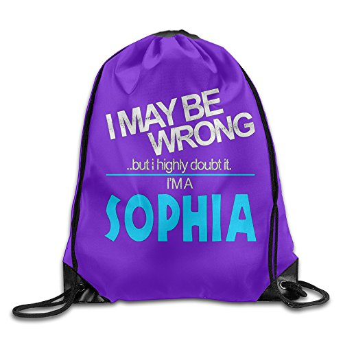Polyester I May Be Wrong But I Highly Doubt I Am Sophia Custom Backpack (Wet T Contest)