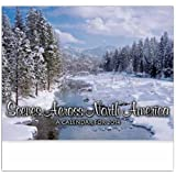 Scenes Across North America Stitched Wall Calendar Trade Show Giveaway