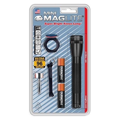 Maglite Mini Incandescent 2 Cell Aa Flashlight Combo