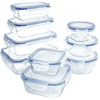 18 Piece Glass Food Storage Container Set