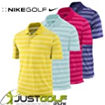 Nike Tech Stripe Core Golf Polo Shirt...