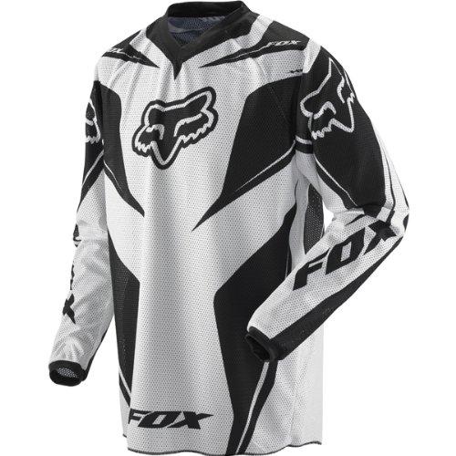 Fox Racing HC Vented Men's Motocross/Off-Road/Dirt Bike Motorcycle Jersey - Black / Medium