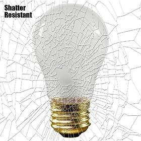 Shatter Resistant - 25 Watt - A15 - Frosted - 130 Volt - Appliance Light Bulb - 25A15/TF