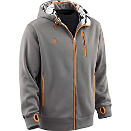 Legendary Whitetails Mens Double Time Performance Hoodie Shark Large