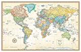 img - for Rand McNally Classic World Wall Map book / textbook / text book
