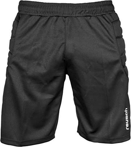 Reusch pantaloni sportivi Unisex bambino base pantaloncini Junior, Bambini, Trainingshose Base Shorts Junior, nero, XS