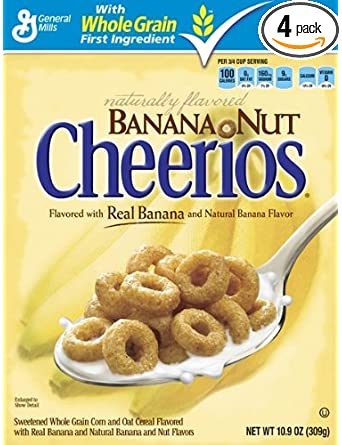 Amazon - Cheerios Cereal: 4-Pack on sale - from $8.34