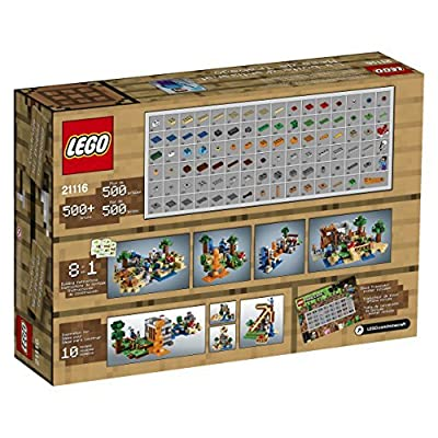 1 X LEGO Minecraft 21116 Crafting Box from LEGO