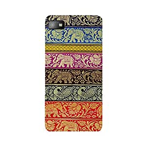 Digi Fashion Designer Back Cover with direct 3D sublimation printing for Blackberry Z10
