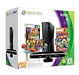 Console Xbox 360 4 Go + capteur Kinect + Kinect adventures ! + Carnival + Carte abonnement 3 mois - gold