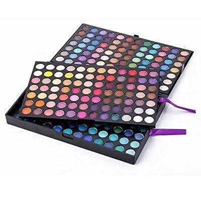 SAGUARO 252 Full Color Eye Shadow Makeup Cosmetic Shimmer Matte Eyeshadow Palette Set
