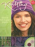 Knitting: Learn to Knit Six Great Projects (1591743842) by Johnson, Anne Akers