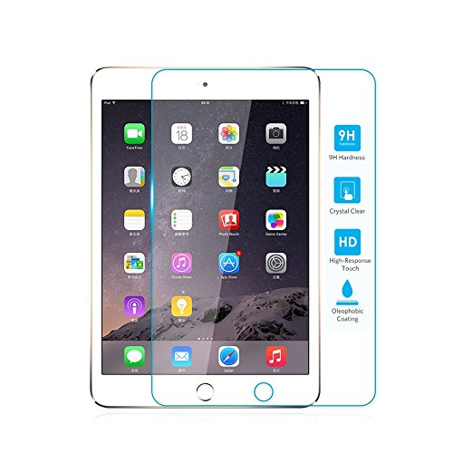 TNP iPad 4/3/2 Screen Protector - Premium Ultra Clear High Definition HD 0.33mm 9H 2.5D Anti-Scratch Anti-Fingerprint Tempered Glass Screen Protector Guard for Apple iPad 4/3/2 9.7-Inch Tablet (Ivisor Ipad Mini compare prices)