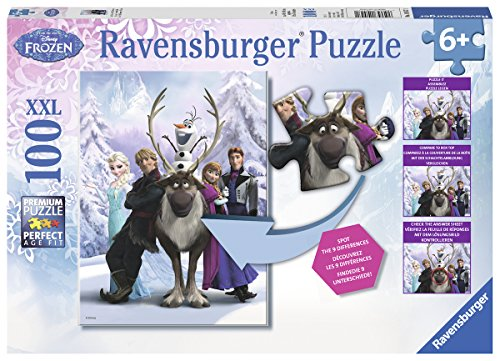 Ravensburger Disney Frozen Difference Hidden Changes Puzzle (100-Piece)