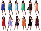 Faship Womens Elegant Short Pleated Bridesmaid Wedding Party Prom Formal Dress