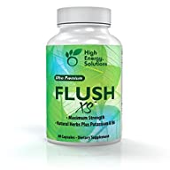 High Energy Solutions Flush XS | Natural Diuretic with Potassium Flushes Excess Fluid From the Body…