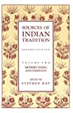 Sources of Indian Tradition (0231064152) by Hay, Stephen N.