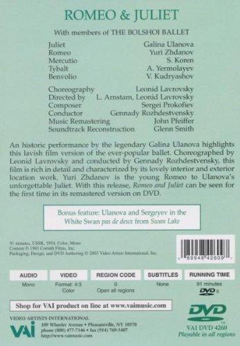 Prokofiev - Romeo and Juliet [1954] [DVD]