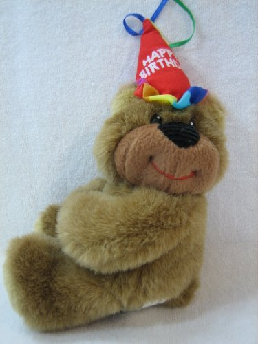 Birthday Huggums 'Happy Birthday' Plush Teddy