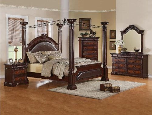 King Size Canopy Bedroom Sets 164324 front