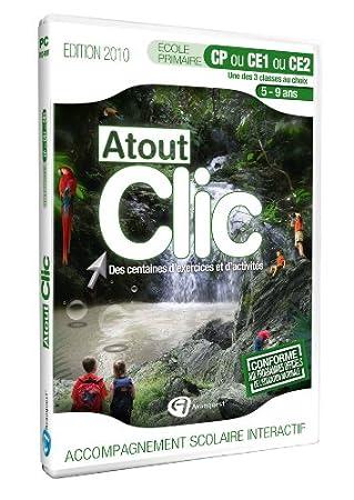 Atout clic ecole primaire CP ou CE1 ou CE2 - édition 2010