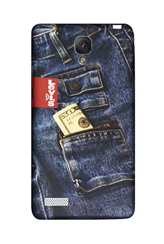 Rich Boss Denim Cover for Xiomi Redmi Note 4G