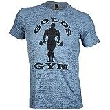 Golds Gym Subtle Toned Burnout Crew T-Shirt