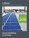 RSMeans Green Building Cost Data 2016 Book - 1943215081