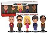Big Bang Theory Mini Bobble-Head Five Pack