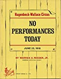 img - for No performances today;: June 22, 1918, Ivanhoe, Indiana, book / textbook / text book