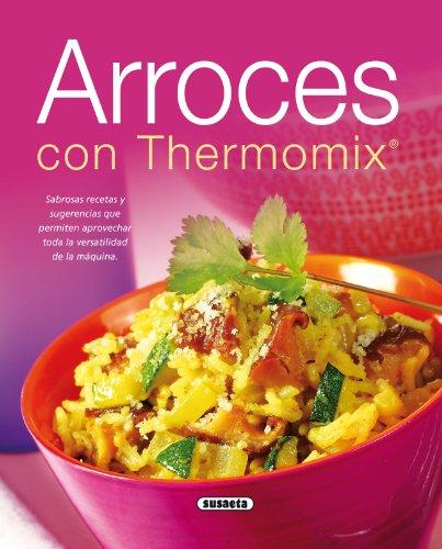 Portada del libro Arroces con thermomix de Equipo Susaeta