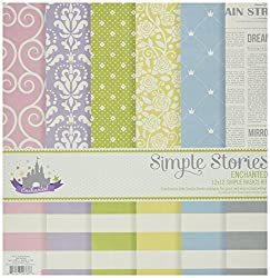 Simple Stories Enchanted Simple Basics Kit (6 Pack)