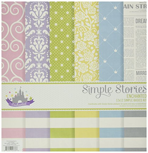 Simple Stories Enchanted Simple Basics Kit (6 Pack) - 1