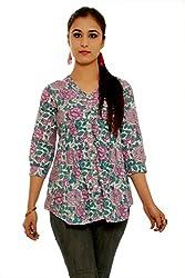 Beautiful Cotton Traditional Womens Short Kurta (44)