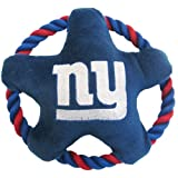 Pets First Star Disk Toy, New York Giants