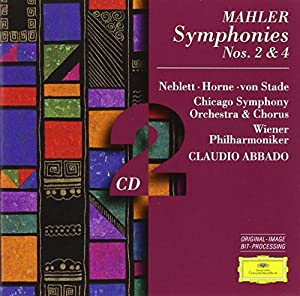 Mahler: Symphonies Nos 2 & 4