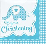 Sweet Baby Elephant Boy Napkins (Pack Of 18)