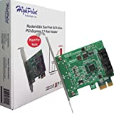 HighPoint Rocket 620 2 SATA Port PCI-Express 2.0 x1 SATA 6Gb/s Controller