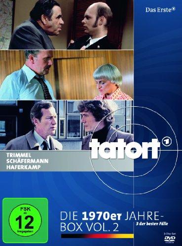 Tatort: Die 1970er Jahre, Vol. 2 [3 DVDs]