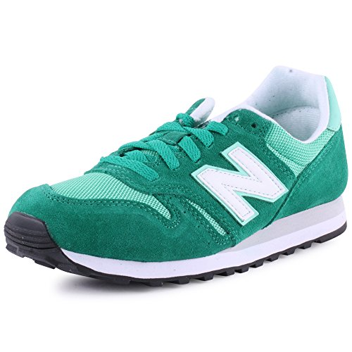 New Balance Wl373 Womens Suede & Synthetic Trainers Green 6 Us