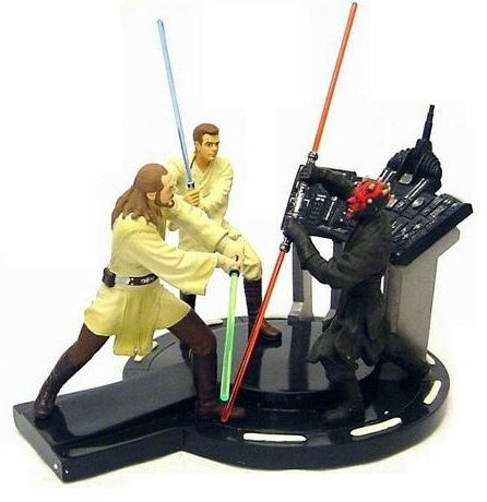 Picture of Applause Limited Edition Star Wars Episode I Duel of the Fates Resin Diorama Figure (B000LRJJR2) (Star Wars Action Figures)